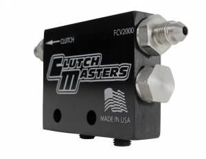 Hydraulics - Flow Control Valve - Clutch Masters - Hydraulic flow control valve